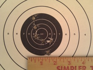 Kimber Custom II 25 yard accuracy