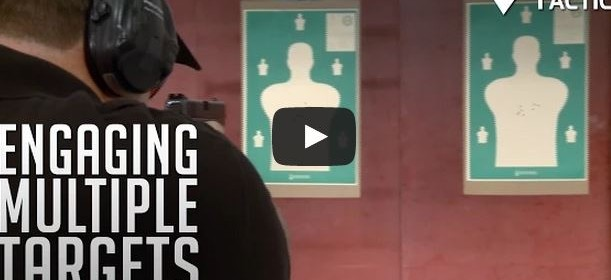 Engaging multiple targets with pistol