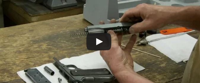 disassemble and clean 1911