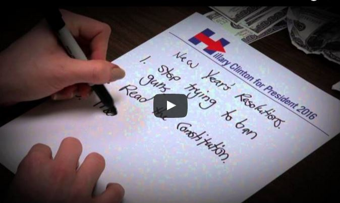 hillary nra resolutions video